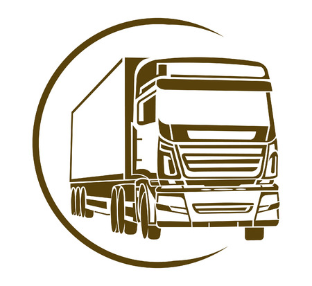semi: Truck Symbol