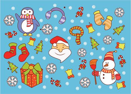 christmass: Christmass  Doodle Illustration