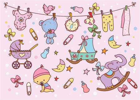 teteros: Doodle de bebé