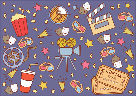 attribute: Cinema Attribute Illustration