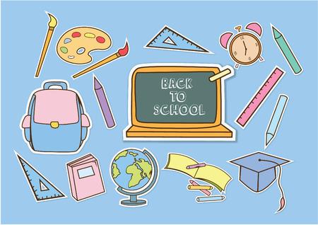 Школа: Школа-центр Иллюстрация
