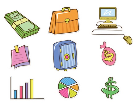 Business and Finance Object Vector
