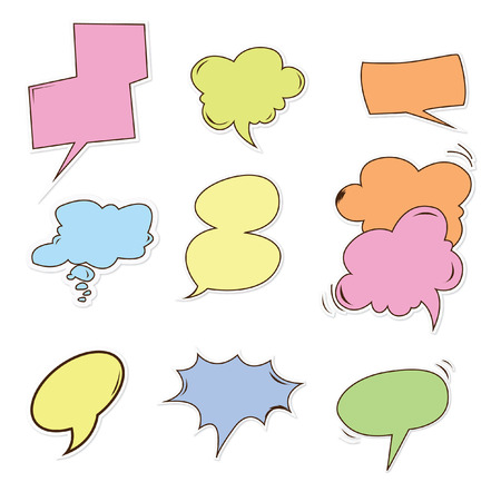 speech buble: buble speech Object