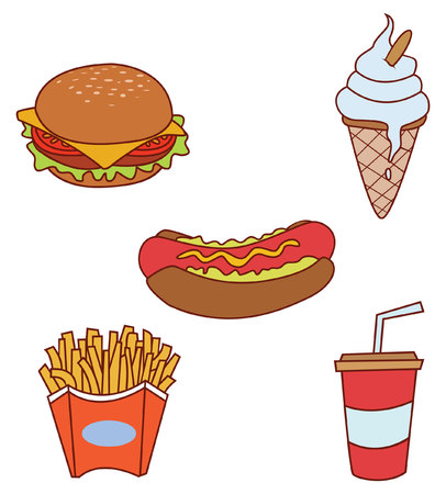 kiddy: Fast Food Object Collection