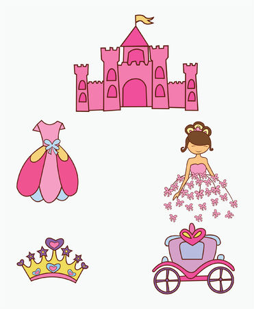 kiddy: Queen  Object Collection Illustration