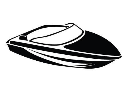 ボートのシンボル  イラスト・ベクター素材