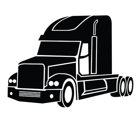 delivery truck: Truck Symbol