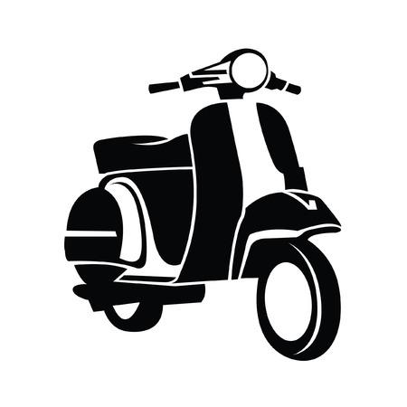 Motocykl Symbol Ilustracje wektorowe