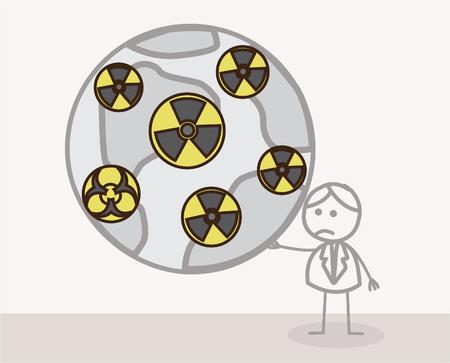 mundo contaminado: Mundial radiactivo