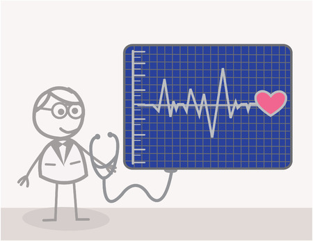 heart ecg trace: Cardiac Doctor
