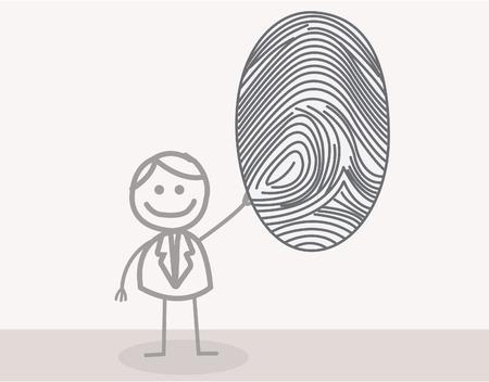 fingermark: Fingerprint