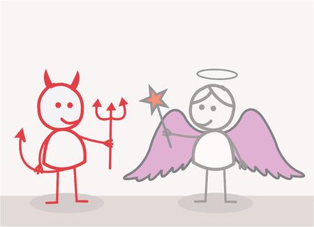 diablo y angel: Devil Angel