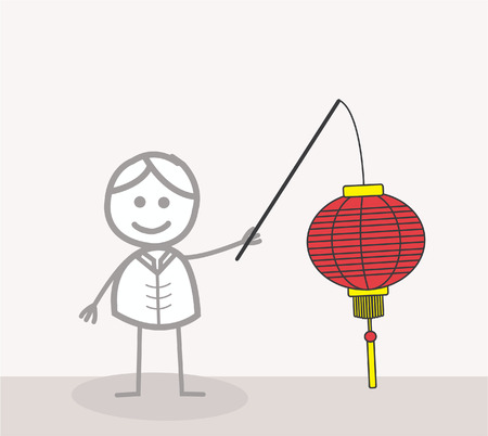 chai: Gong Xi Fat Chai lantern