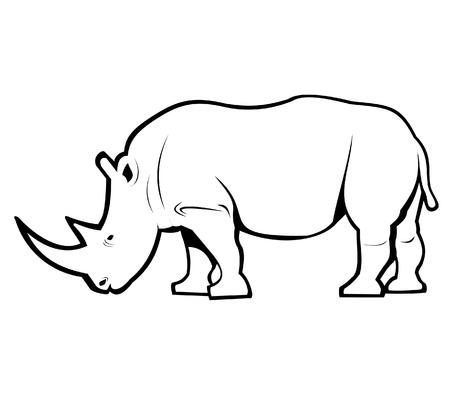 Rhino Outline