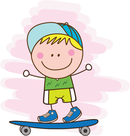 skateboarding tricks: boy playing skateboard