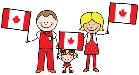 캐나다에서 가족