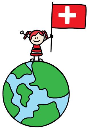 nations: Switzerland girl
