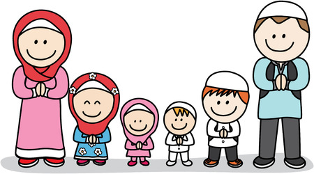 muslim: Moslem family