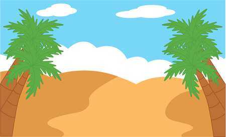 deserts: Desert landscape