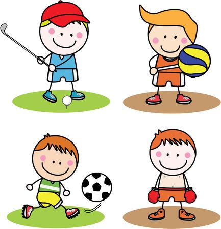 diversion: Niños colección deportiva
