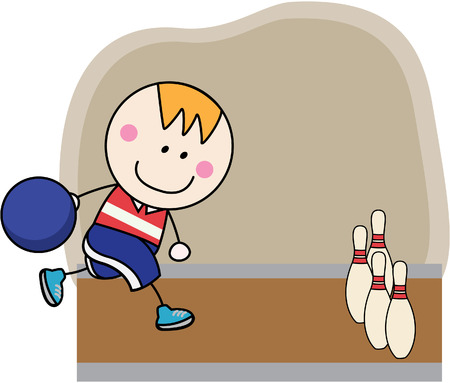 Bowling player