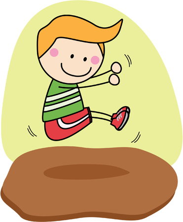 salto largo: muchacho salto largo deporte