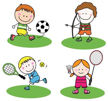 tenis: Kids sport