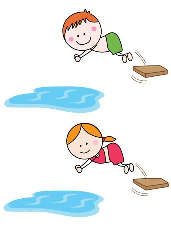 Schwimmen Kinder