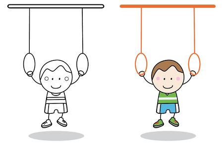 boy gymnast: Boy Gymnastic