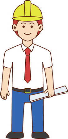 validating: Architect doodle cartoon design illustration