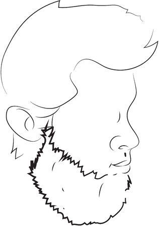 ilustration: bearded ilustration
