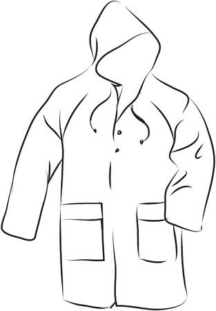spring coat: Rain coat