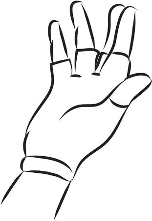 rubber glove: gloves ilustration