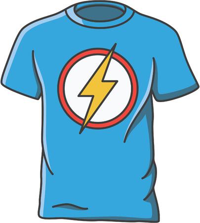 T-shirt doodle illustration design
