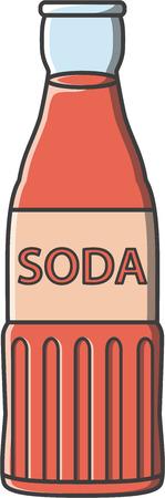 Soda doodle illustration design Illustration