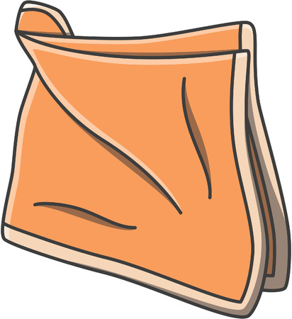 Handkerchief doodle illustration design