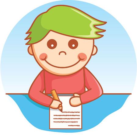 tarea escolar: de la escritura del doodle de