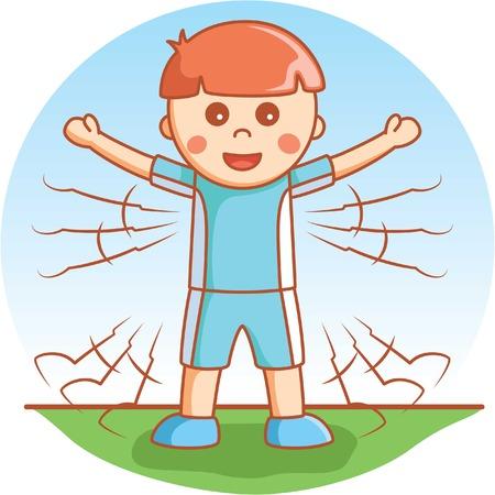 educacion fisica: Jumping Jack b