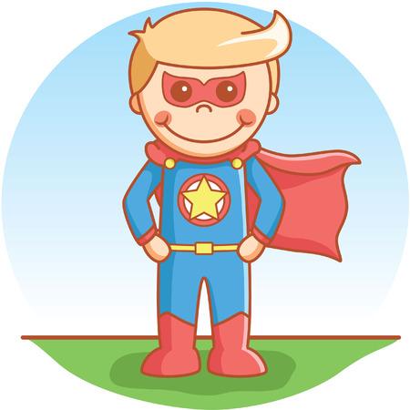 pretend: Super hero boy