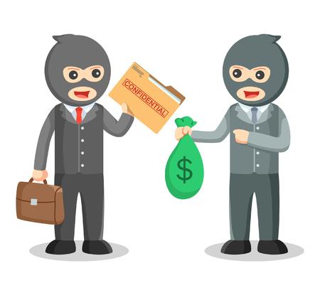 employees: Employee selling secret data