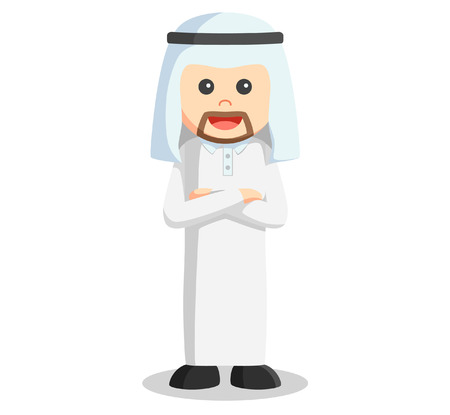 arab adult: Arabic business man