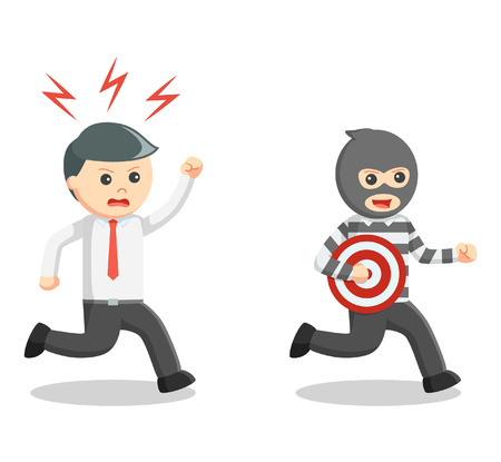 office theft: Business man thief target