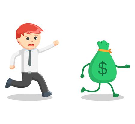 atrapar: dinero hombre de negocios capturas Vectores