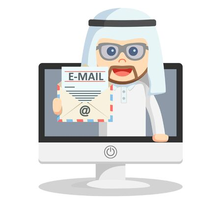 emails: Arabic business man email