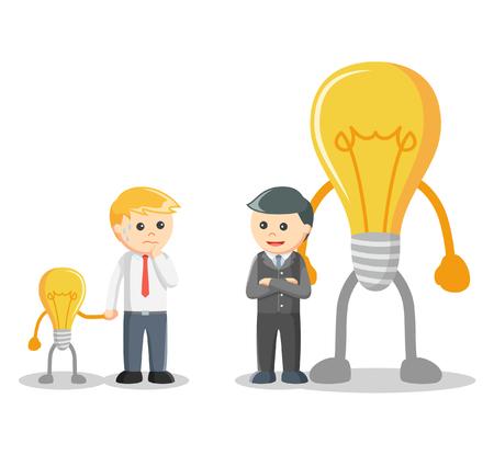 Idea negotiation illustration