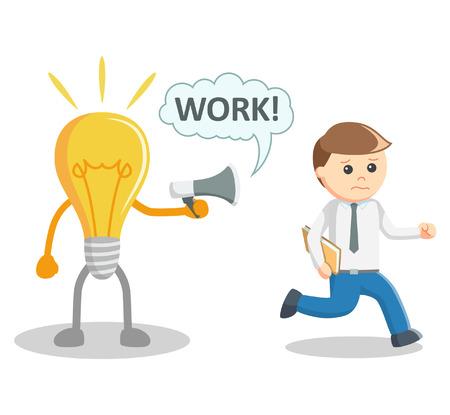 idea lamp: Idea lamp work