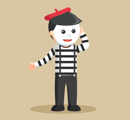 mime: mime confused illustration design