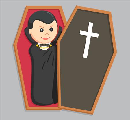 lying in: dracula lying in opened coffin