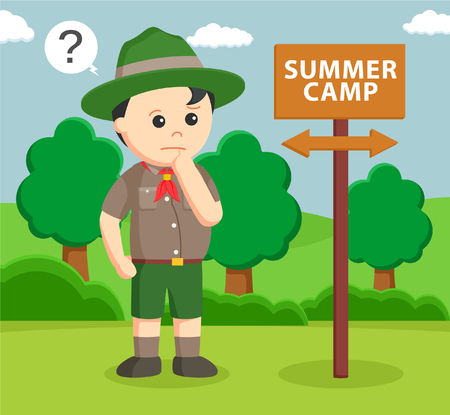retreat: confused with summer camp direction