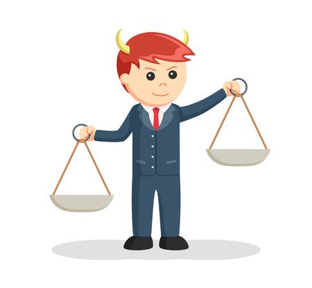 fraudulent: liar male lawyer illustration design Illustration
